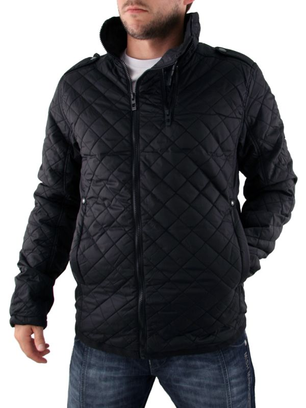 Mens Black Bench Canoe Jacket