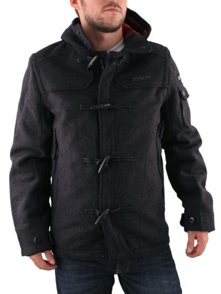 Mens Duck and Cover Marl Drew Duffle Coat