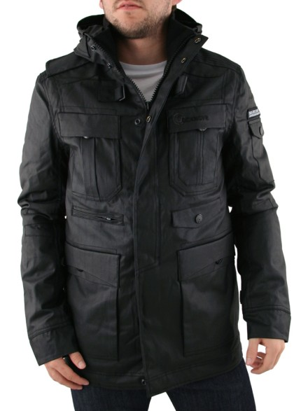 Mens Black Duck and Cover Equinox Jacket