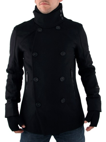 Mens Black Full Circle Ergosutra Jacket